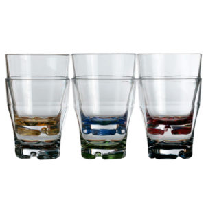 Vaso apilable agua - Base colores PARTY