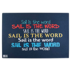 Alfombrita antideslizante SAIL IS THE WORD