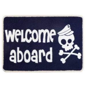 Alfombrita antideslizante WELCOME SKULL - Kids